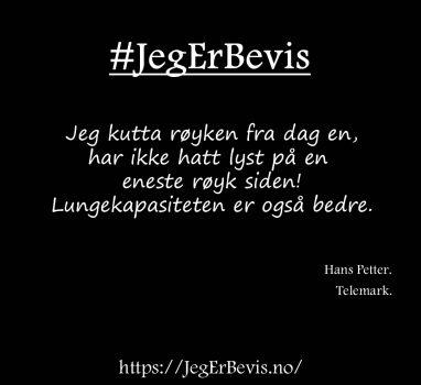 Fra Hans Petter.